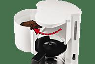 KRUPS F18301 AromaCafé Kaffeemaschine Weiß