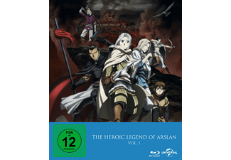 The Heroic Legend of Arslan - Vol. 1 - (Blu-ray)
