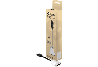 CLUB-3D DisplayPort auf DVI-D Single Link Adapter (CAC-1000)
