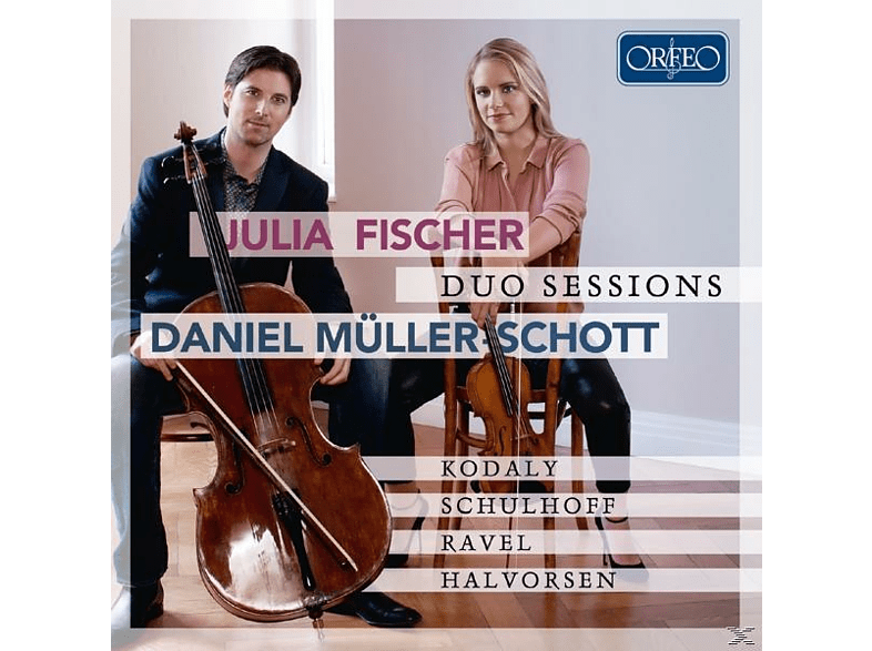 Fischer,Julia/Müller-Schott,Daniel - Duo Sessions [CD]