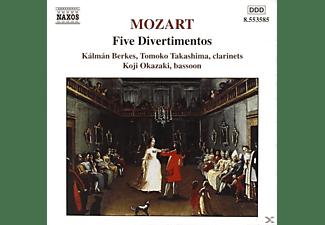 Tomoko Takashima, Koji Okazaki, Kalman Berkes - Fünf Divertimenti  - (CD)