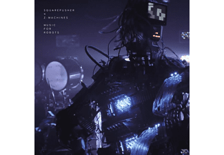 Squarepusher X Z-machines - Music For Robots (Blue Vinyl)  - (Vinyl)