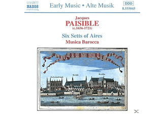Musica Barocca - Six Setts Of Aires  - (CD)