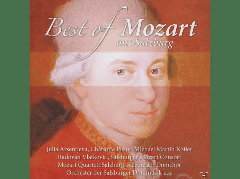 Arsentjeva/Pistor/Kofler/Vlatkovic/Czifra - Best of Mozart aus Salzburg [CD]