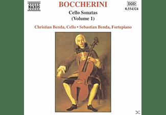 Christian Benda, Sebastian Benda - Cellosonaten Vol.1  - (CD)
