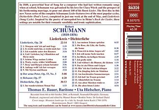 Uta Hielscher - Liederkreis/Dichterliebe  - (CD)