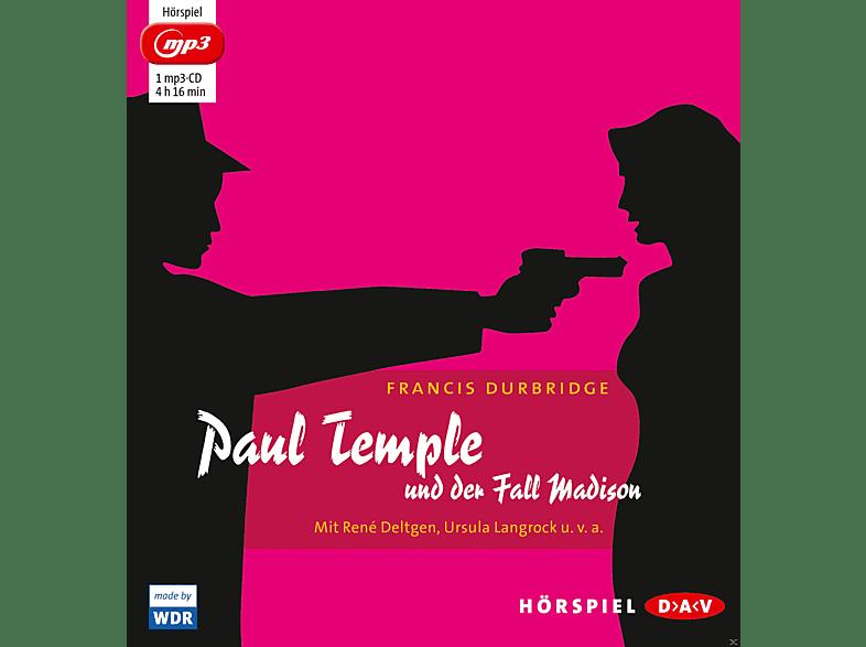 Francis Durbridge - Paul Temple und der Fall Madison - (MP3-CD)