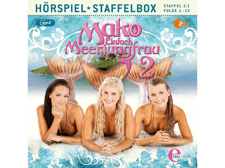 Mako-einfach Meerjungfrau - Staffelbox (Staffel 2.1,Folge 1-13) - (MP3-CD)