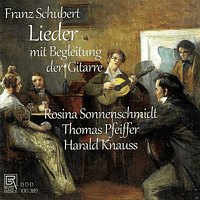 Rosina Sonnenschmidt, Thomas Pfeiffer, Harald Knauss - Lieder Zur Gitarre - [CD]