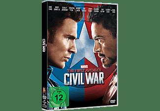 The First Avenger: Civil War DVD
