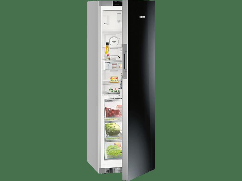 LIEBHERR KBPgb 4354  Kühlschrank (A+++, 128 kWh/Jahr, 1850 mm hoch, Silber)