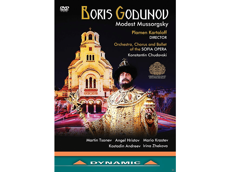 VARIOUS, Orchestra, Chorus And Ballet Of The Sofia Opera - Boris Godunov [DVD]