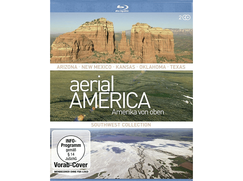 Aerial America - Amerika von Oben: Southwest Collection [Blu-ray]