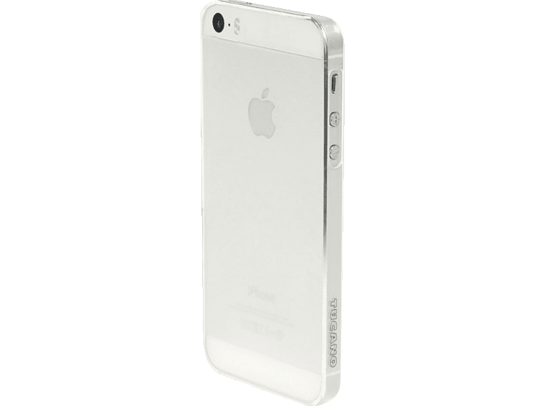 TUCANO IPH5SESO-TR Sottile , Backcover, Apple, iPhone 5s, iPhone SE, Polycarbonat, Transparent