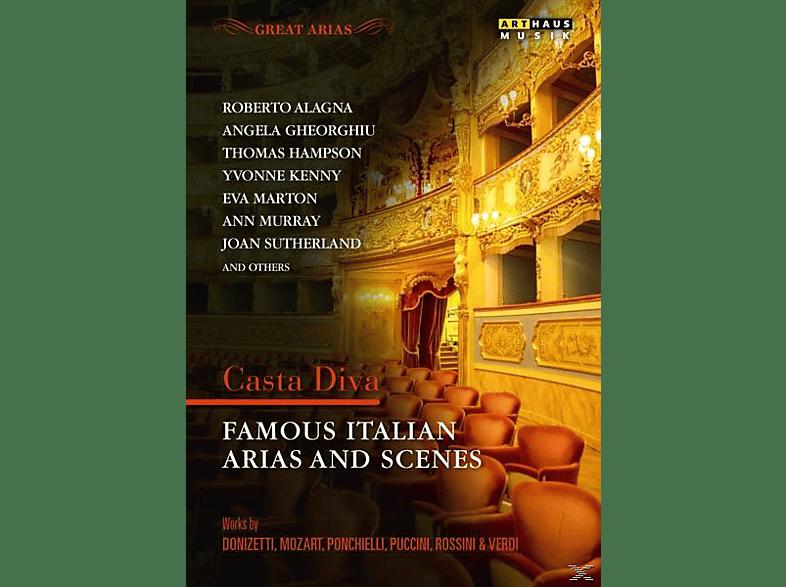 VARIOUS - Casta Diva-Italienische Arien [DVD]
