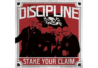 Discipline - Stake Your Claim (Red Vinyl) - (Vinyl)