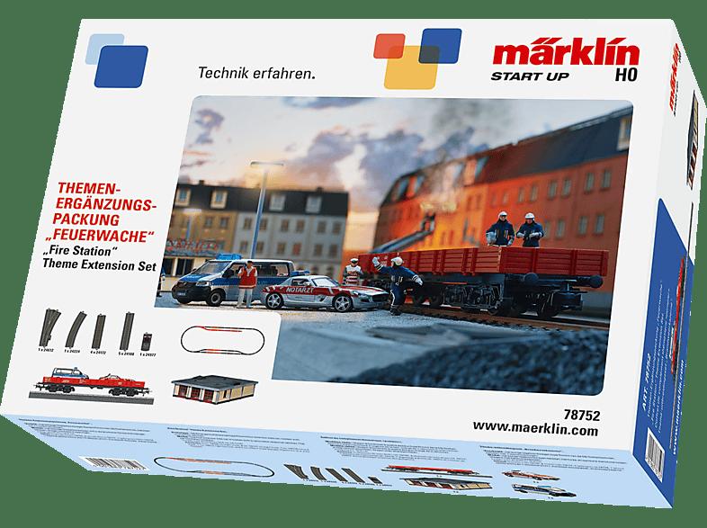 """MÄRKLIN Start up """"Feuerwache"""" Themen-Ergänzungspackung, Mehrfarbig"""
