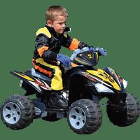 JAMARA KIDS 404640 Quad Kinderfahrzeug, Schwarz