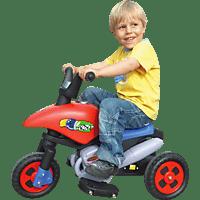 JAMARA KIDS 404771 E-Trike mit Richtungsschalter Kinderfahrzeug, Rot