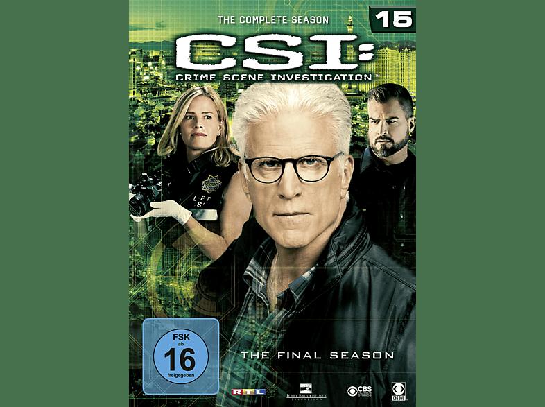 CSI: Las Vegas – Staffel 15 [DVD]