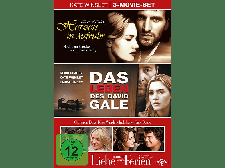 Kate Winslet Box (Das Leben des David Gale - Herzen in Aufruhr - Liebe braucht keine Ferien) [DVD]