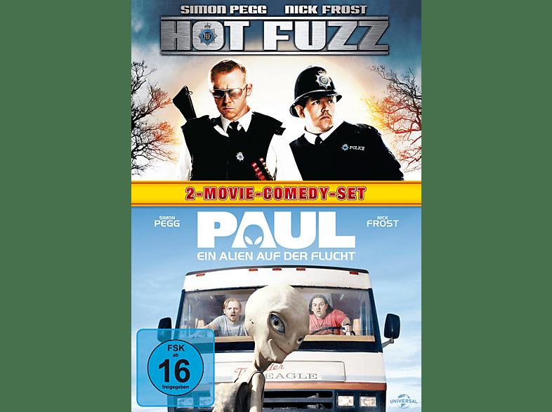 Hot Fuzz, Paul - Ein Alien auf der Flucht [DVD]
