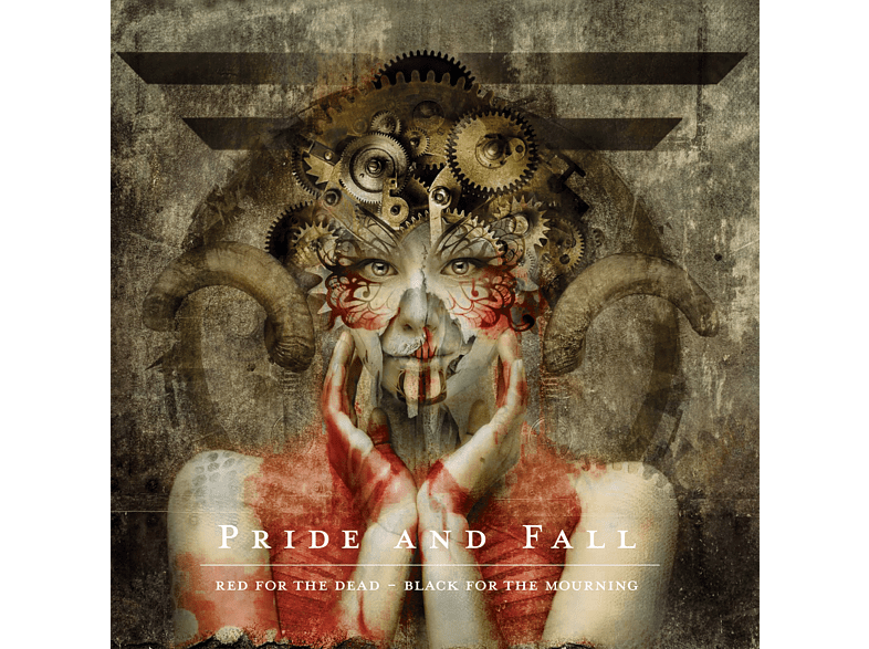 Pride And Fall - Red For The Dead-Black For T [CD]
