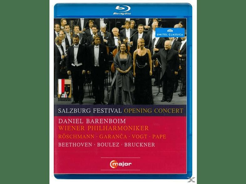 Daniel/wpo Barenboim - Salzburg Festival Opening Concert [Blu-ray]