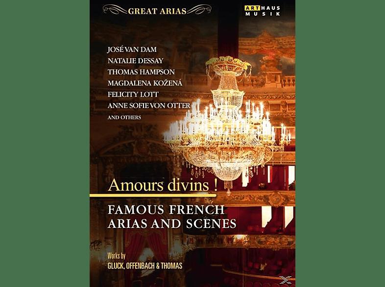 VARIOUS - Amour divins!-Französische Arien [DVD]