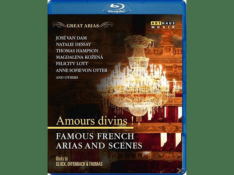 van Dam/Dessay/Hampson/Kozena/Lott/von Otter/+ - Amour divins!-Französische Arien [Blu-ray]
