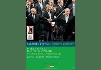 Daniel Barenboim, Wiener Philharmoniker, Pierre Boulez - Salzburg Festival Opening Concert  - (DVD)