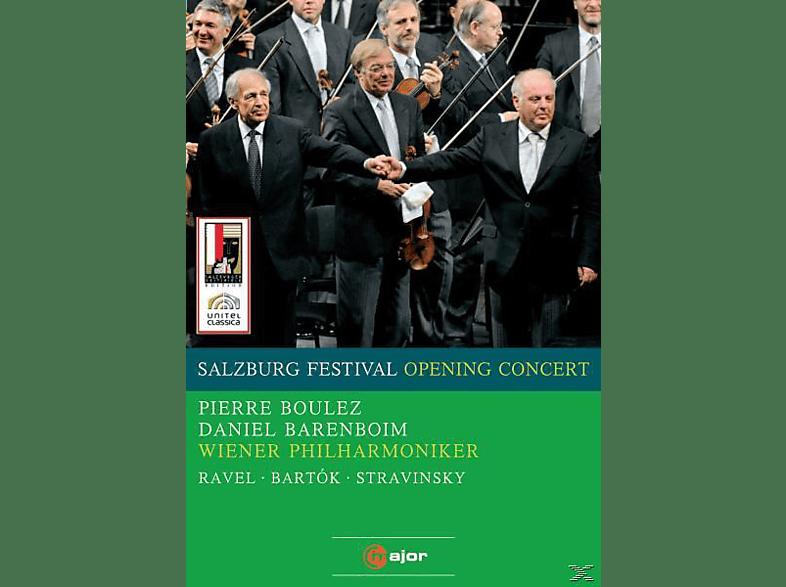 Daniel Barenboim, Wiener Philharmoniker, Pierre Boulez - Salzburg Festival Opening Concert [DVD]