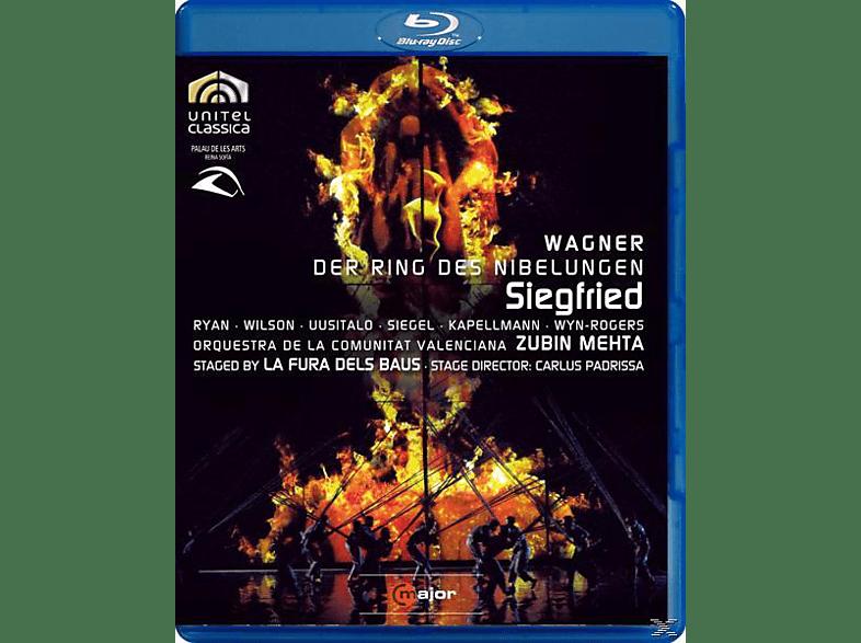 UUSITALO, RYAN, SIEGEL, KAPELLMANN, MEHTA/RYAN/WILSON/SIEGEL - Siegfried [Blu-ray]