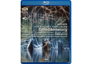 SALMINEN, RYAN, LUCAS, KAPELLMANN, Mehta/Ryan/Lukas/Salminen - Götterdämmerung  - (Blu-ray)