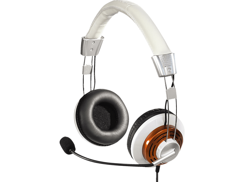 HAMA HS-320 Headset Orange/Weiß