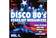 VARIOUS - Disco 80's-Stars Hit Megamixes [CD]