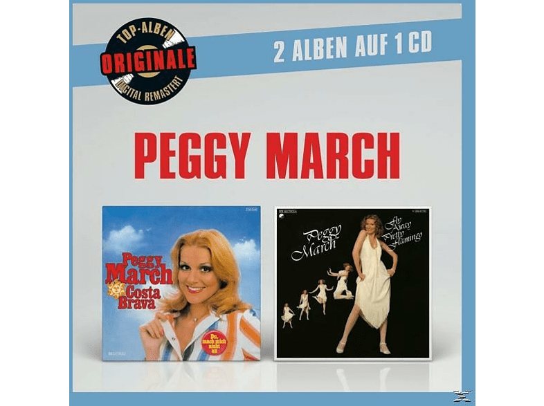 Peggy March - Originale 2auf1: Costa Brava/Fly Away Pretty Flam. [CD]