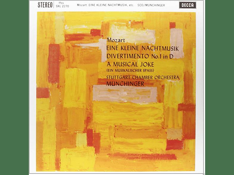 Stuttgart Chamber Orchestra - EINE KLEINE NACHTMUSIK DIVERTIMENTO KV 136 [Vinyl]