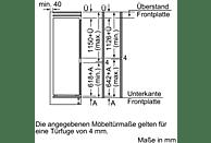 BOSCH KIS87AD40 Kühlgefrierkombination (A+++, 149 kWh/Jahr, 1772 mm hoch, Einbaugerät)