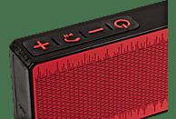 SWISSTONE BX 200 Bluetooth Lautsprecher, Rot, Schwarz
