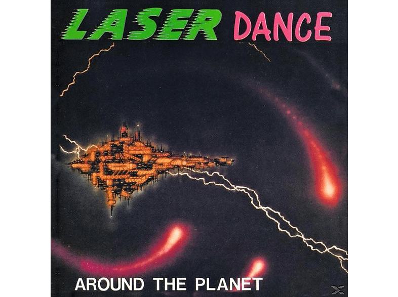 Laserdance - Around The Planet [CD]