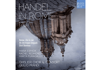 Giulio/ghislieri Choir & Consort Prandi - Händel in Rom 1707 - (CD)
