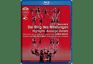 Zubin/comunitat Valencia Mehta - Der Ring Des Nibelungen (Az)  - (Blu-ray)