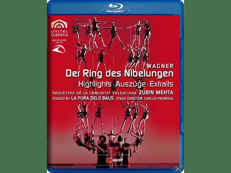 Zubin/comunitat Valencia Mehta - Der Ring Des Nibelungen (Az) [Blu-ray]