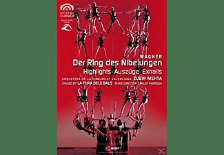 Zubin Mehta, Comunitat Valencia - Der Ring Des Nibelungen (Az)  - (DVD)