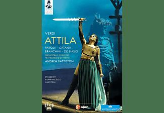 Orchestra/Coro Teatro Regio Pa, Battistoni/Parodi/Catana - Attila  - (Blu-ray)
