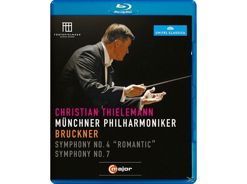 Thielemann Christian, Christian/mp Thielemann - Thielemann Dirigiert Bruckner [Blu-ray]