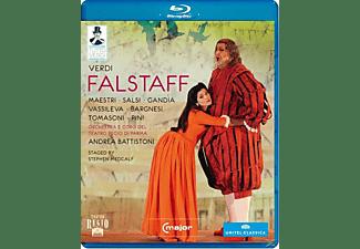 Orchestra/Coro Teatro Regio Pa, Battistoni/Maestri/Salsi - Falstaff  - (Blu-ray)