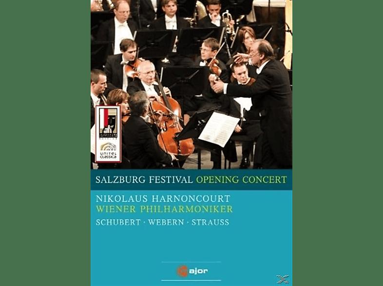 Nikolaus & Wiener Philharmoniker Harnoncourt, Harnoncourt/WPO - Salzburg Festival Opening Concert [DVD]