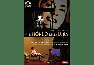 Richter, Harnoncourt, Genaux - Il Mondo Della Luna  - (DVD)